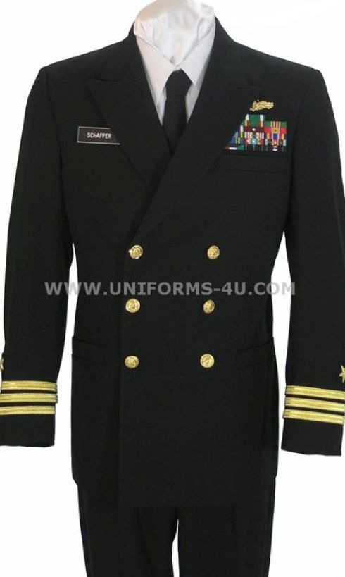 Navy blue dress uniform pictures 1