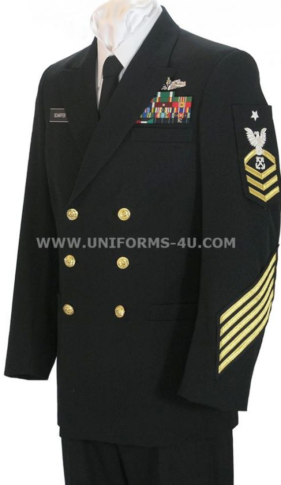 Navy blue dress uniform pictures 3