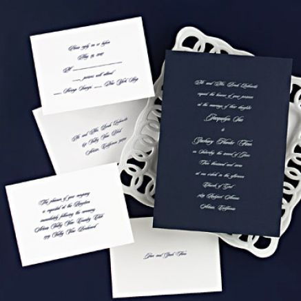 Discount wedding paper products