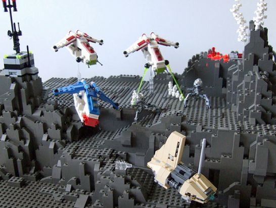 New lego star wars the clone wars sets pictures 3 Star wars in Twelve Pics