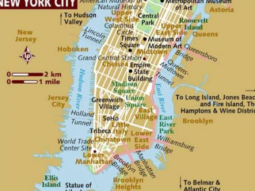 New York City Map Districts