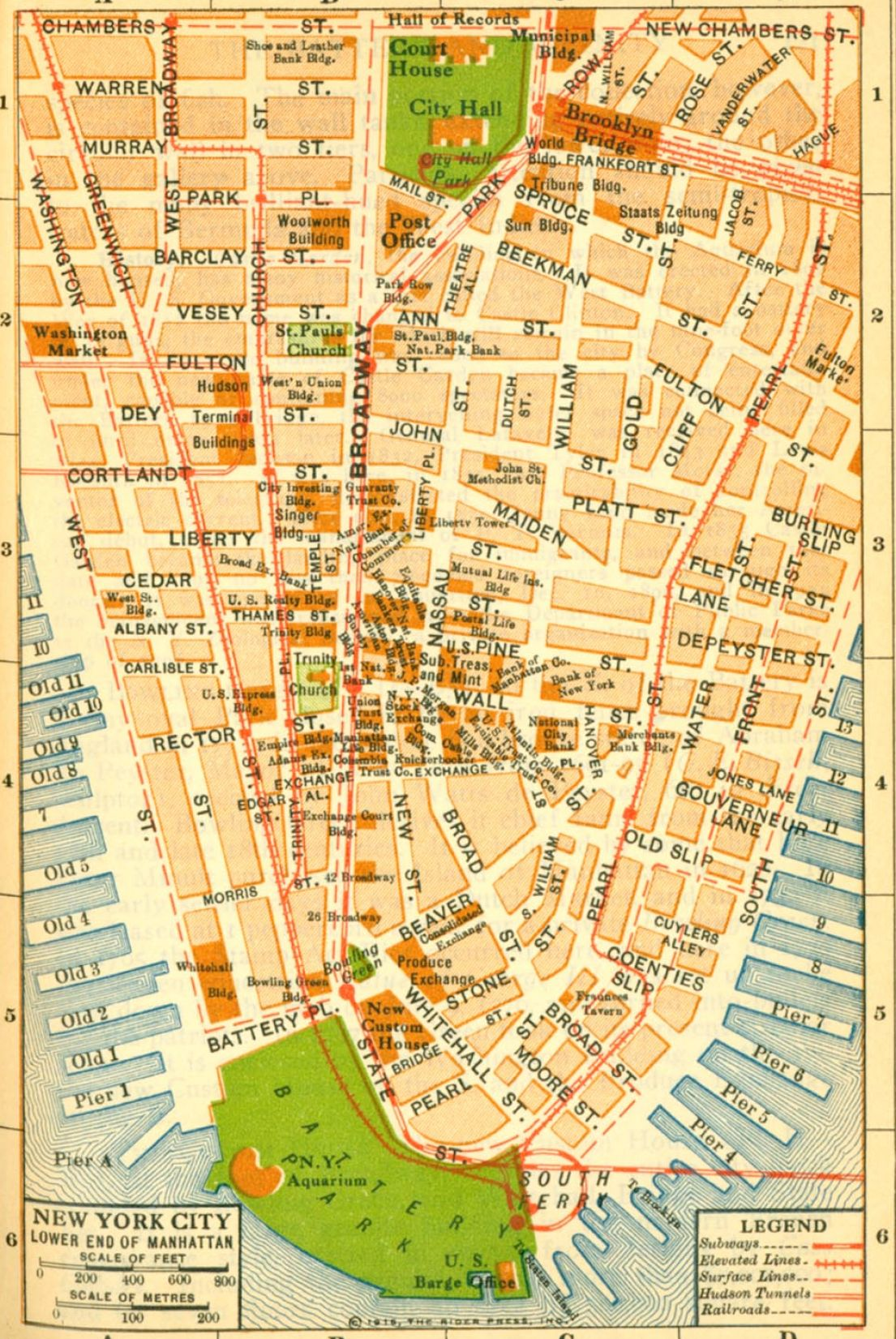 Pics Photos  New York City Street Map Printable