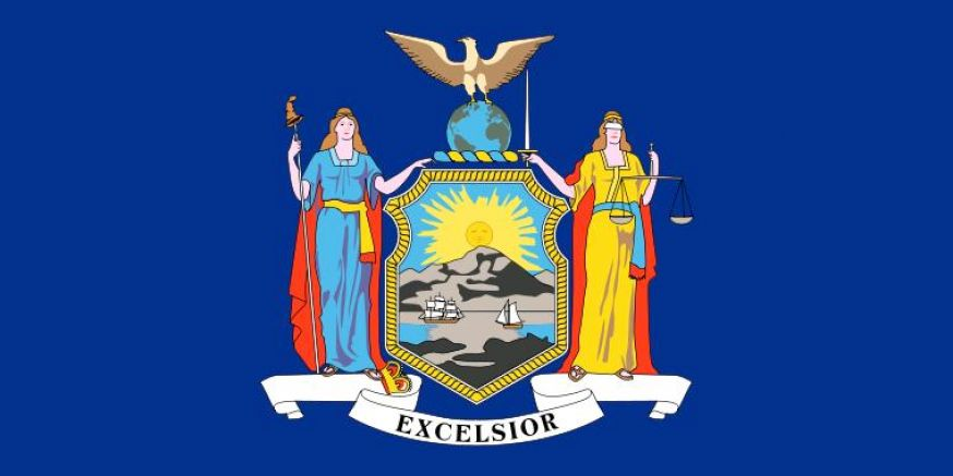 The hollywood gossip new york state flag for New york flag coloring page