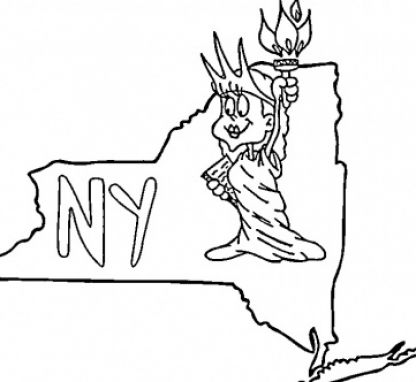 new york state. New york state flag