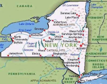 Clean image pertaining to new york map printable