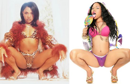 nicki minaj lil kim picture. Youtube nicki minaj lil kim