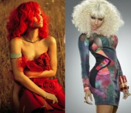Nicki Minaj And Rihanna Pictures