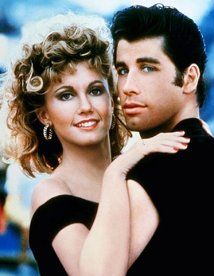 olivia newton john and john travolta in grease 3