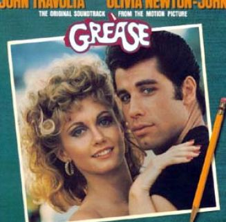 olivia newton john and john travolta in grease 4