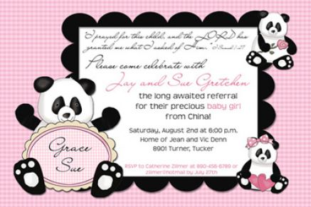panda bear baby shower 4