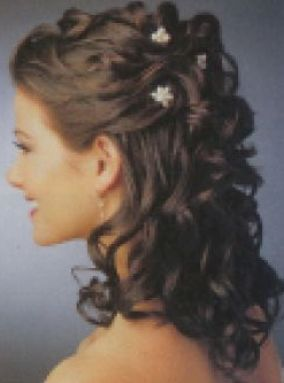 partial updo for long hair 1