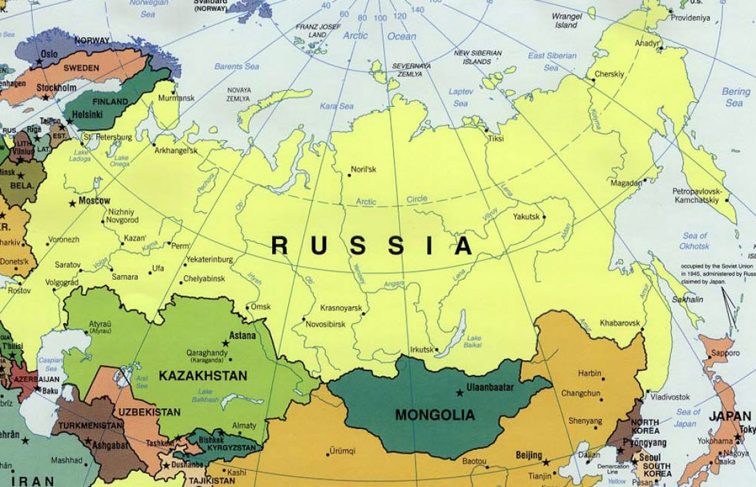 Outline Map 5 Russia And The Independent Republics on blank map of countries, blank russian map, blank map of europe physical features, blank outline maps,