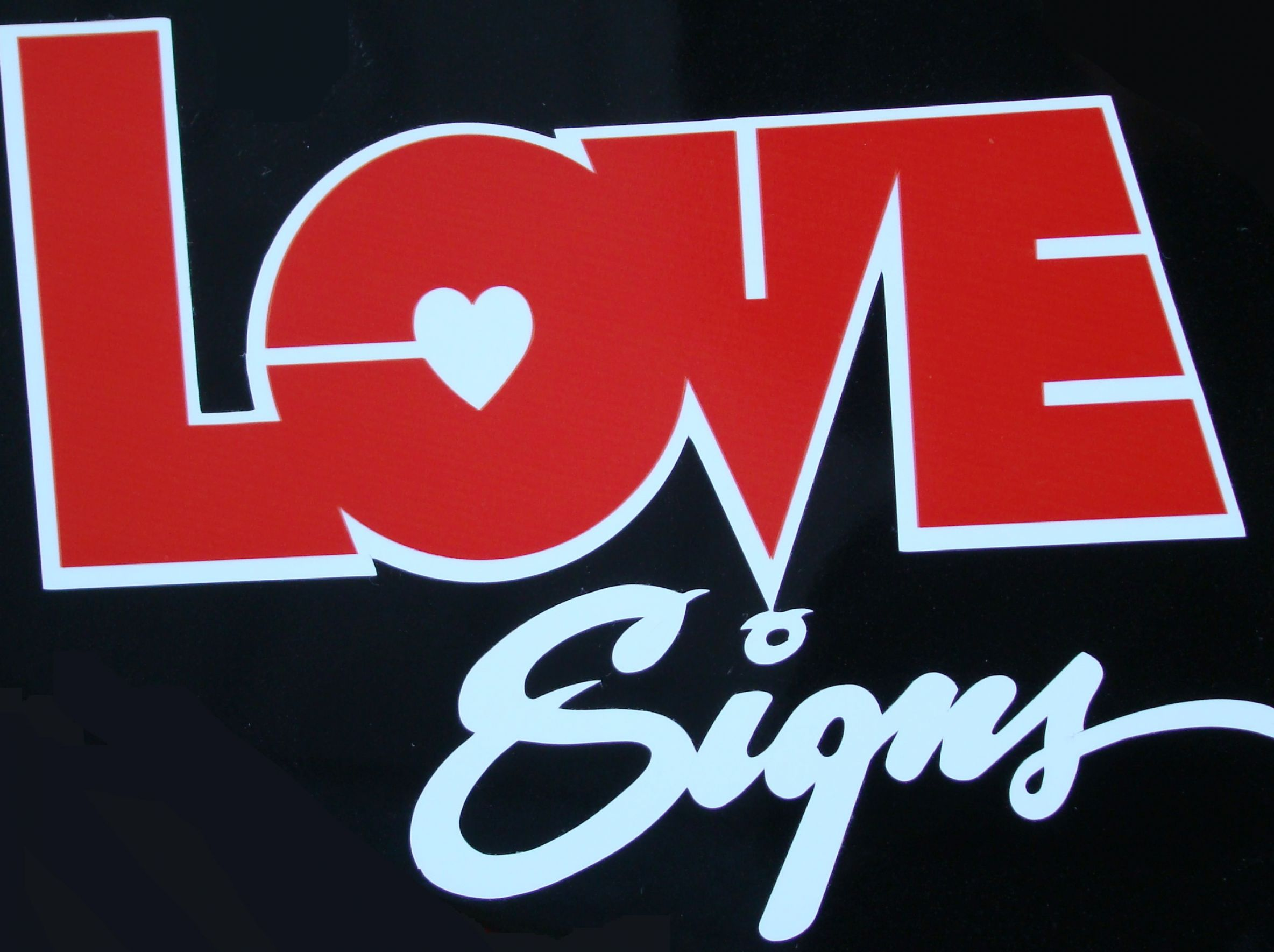 pics of love signs 1