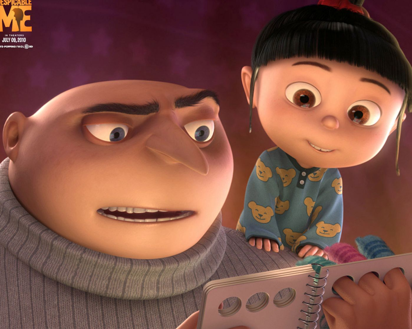pics of the little girl from despicable me 2