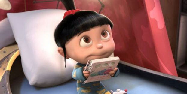 pics of the little girl from despicable me 4