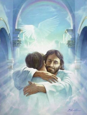picture of jesus christ and heavenly father 1