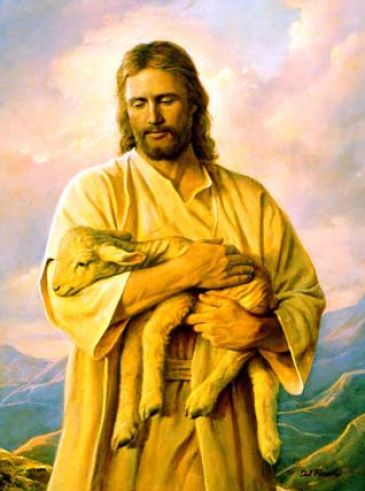 picture of jesus with lamb 3