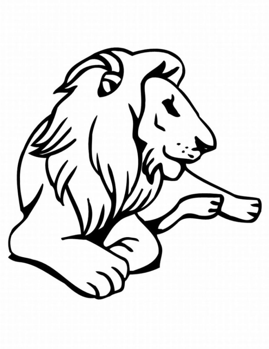 Pictures of animals for kids to color pictures 1