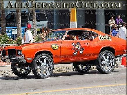 Cars with rims pictures