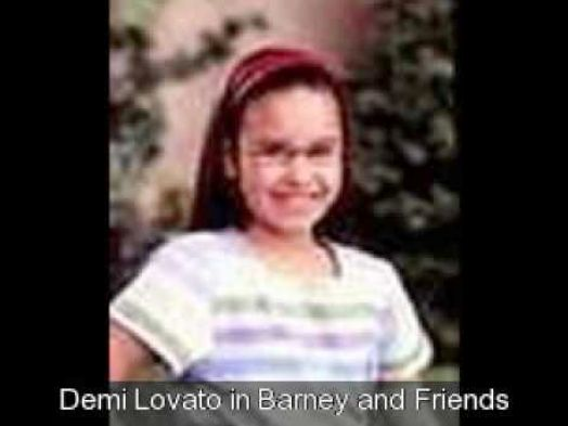 selena gomez in barney and friends. Demi Lavato was on Barney