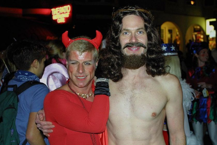 pictures of jesus and satan 4