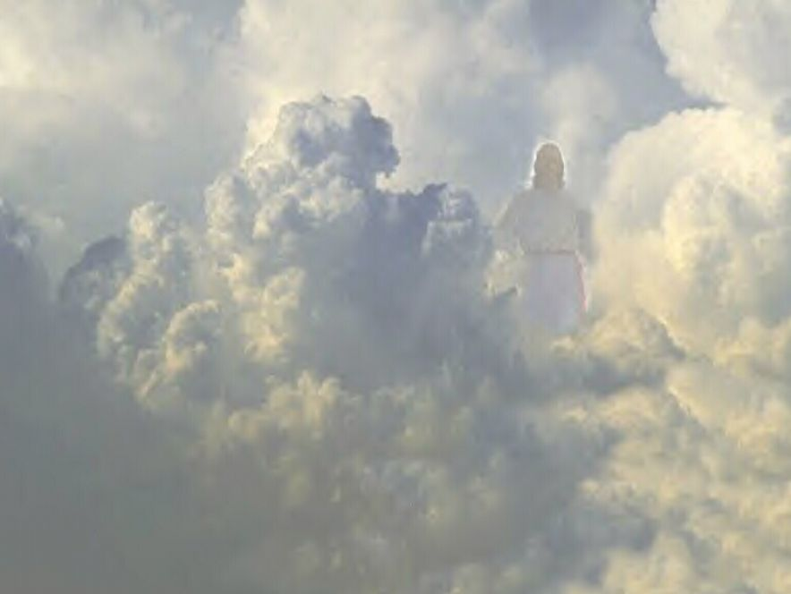 pictures of jesus in the clouds 2