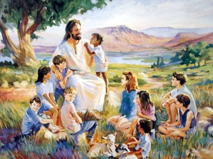 pictures of jesus with children 1