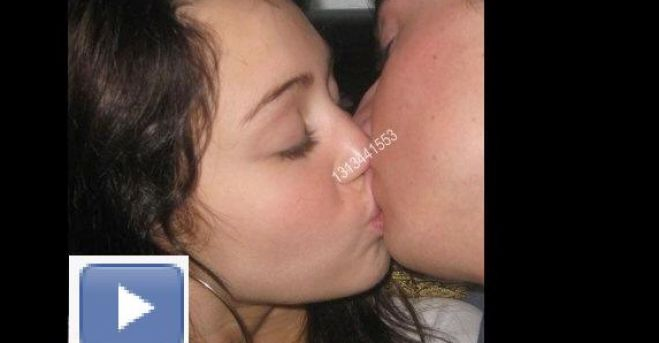 Variant possible Miley cyrus kissing girl nakef