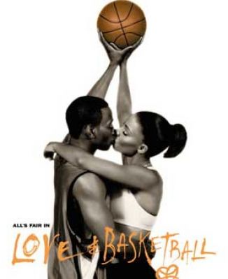 Large photo gallery featuring Love & Basketball images. Movie posters.