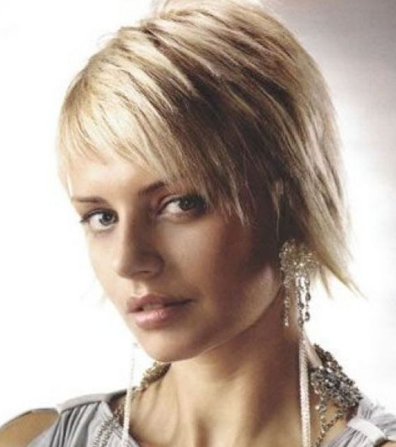 Pictures of short choppy layered hairstyles pictures 3