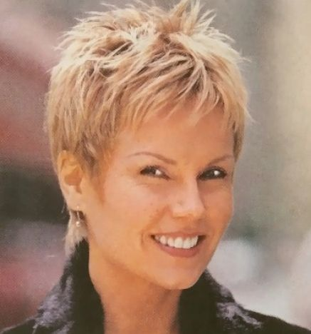 short hairstyles women over - photo #21
