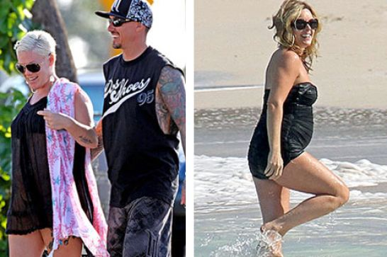 Pictures Of Pink Pregnant 2011