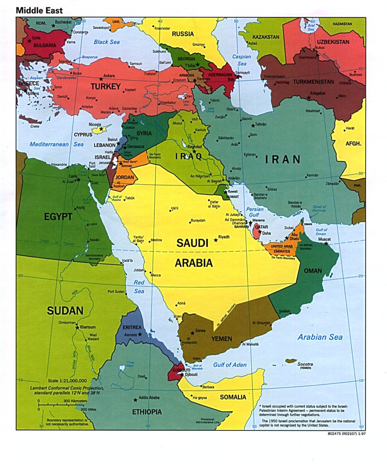 southwest asia map quiz political