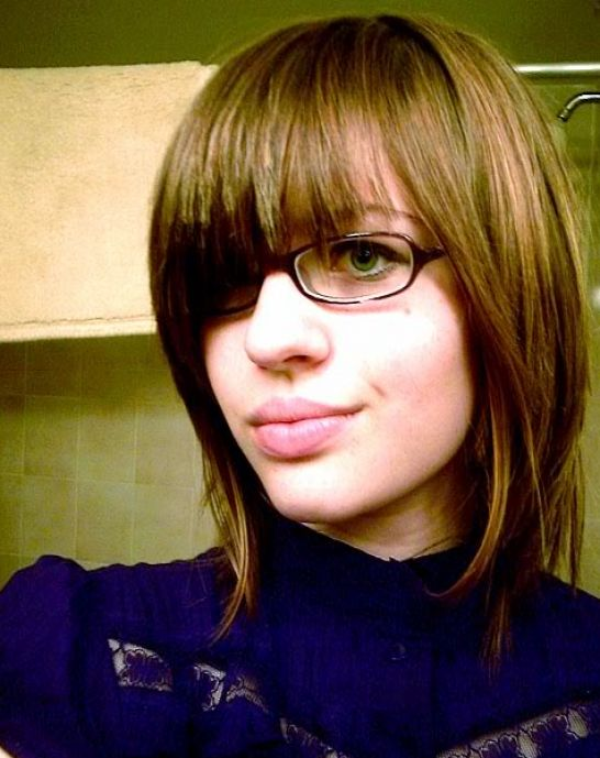 Pretty Hairstyles on Pretty Hairstyles For Girls With Glasses Pictures 2