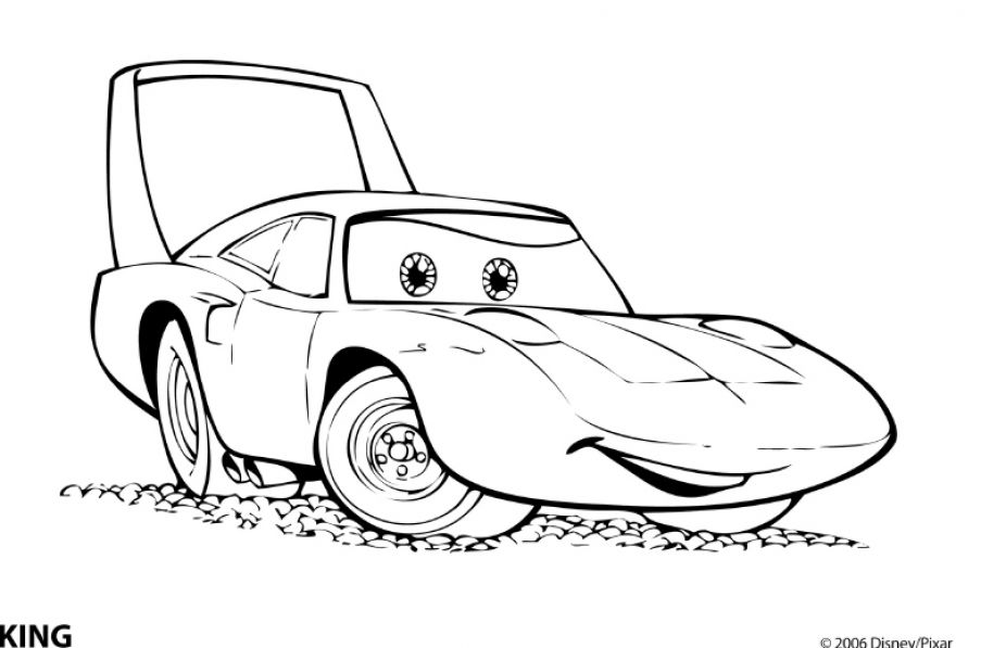free printable cars coloring pages - photo#4