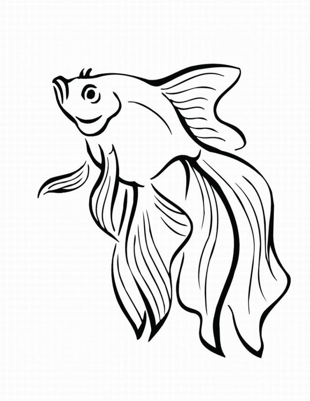 Sketches of fishes that a coloring pages for Printable fish coloring pages