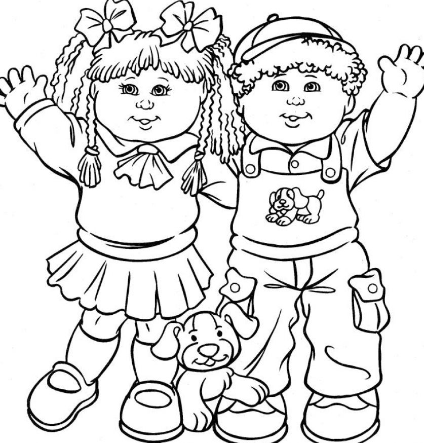 barbie coloring pages for kids printable. Free printable Coloring Pages