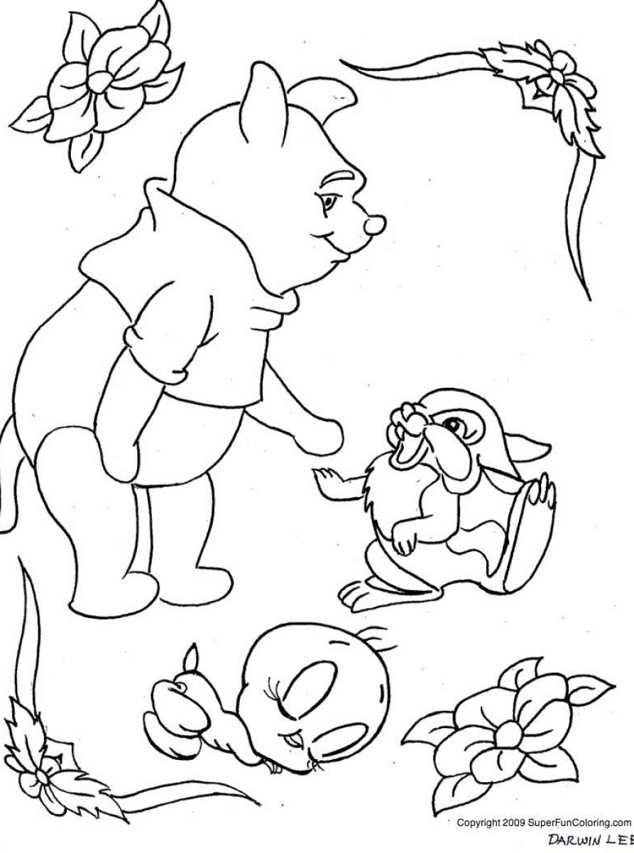 free coloring pages of baby tweety bird Baby Disney Coloring Pages  Baby Tweety Coloring Pages