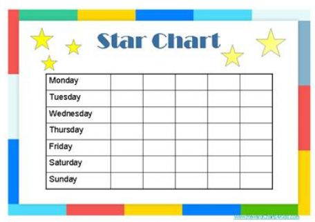 DLTK's Crafts for Kids Printable Chore Charts