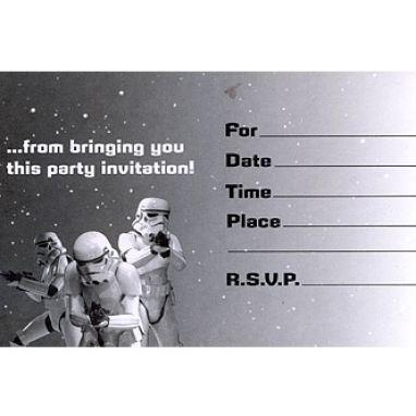 ... this free star wars birthday invitation templates index of image from