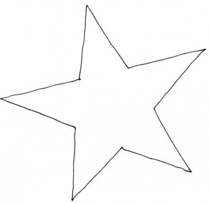 Printable star pictures 4