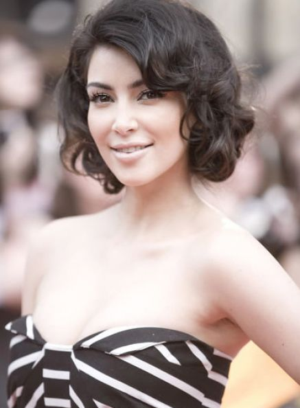 Hairstyles For Short Hair Evening : Prom hairstyles for short curly hair pictures 3