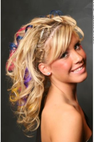 Prom hairstyles for short hair down pictures 2