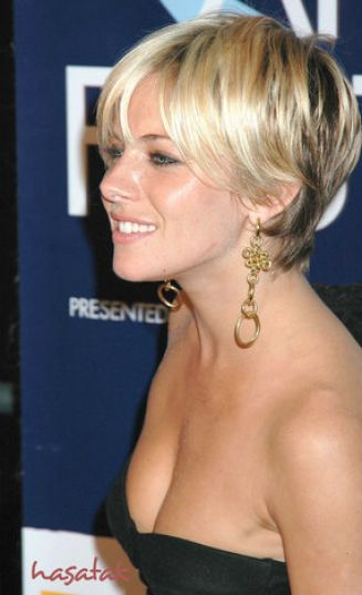blonde short hair styles 2008