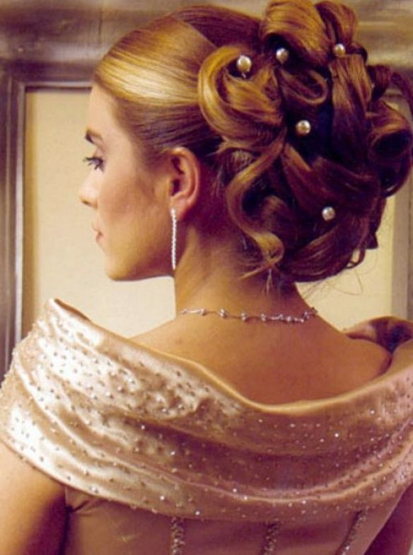 fancy updo hairstyles for medium length hair. Fancy Updos for Medium Length