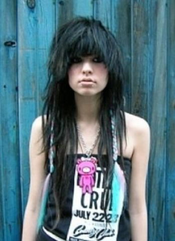 female punk hairstyles. punk hairstyles for women with