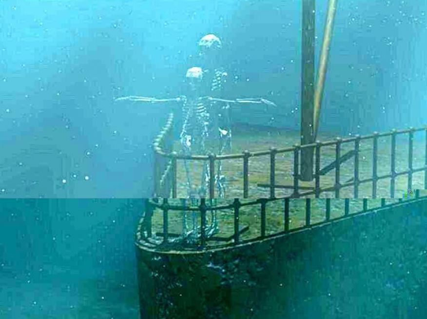 Real Titanic Pictures Underwater   www.imgkid.com - The ...
