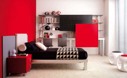 Top Teen Room Black White Red Bedroom 535 x 328 · 25 kB · jpeg