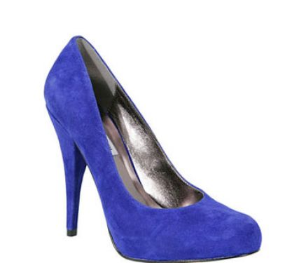 Royal blue heels for pictures 4