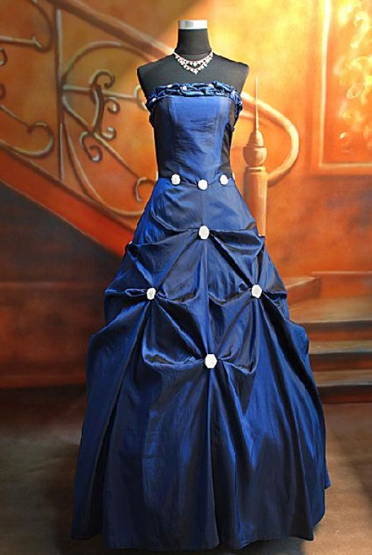 Wedding Dresses In Royal Blue : Royal blue wedding dresses pictures